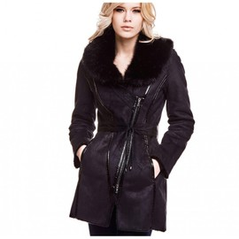 manteau guess esel shearling achat et vente. Black Bedroom Furniture Sets. Home Design Ideas