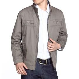 Homme Blouson Col Unie Pour Rabattu En Hommes Manteau Couleur Coton dx7pXqff