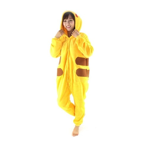 Animaux Combinaison Cosplay Adulte Costume Animaux Chat Style Pikachu