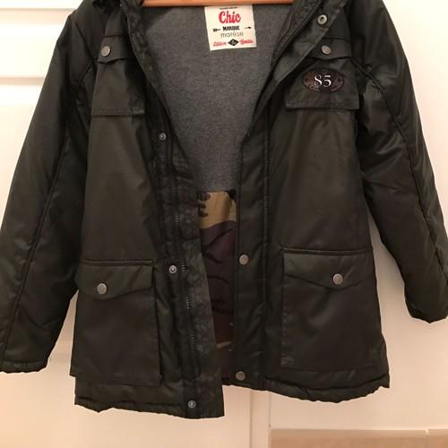 manteau parka enfant 12 ans gar on marque mar se achat. Black Bedroom Furniture Sets. Home Design Ideas