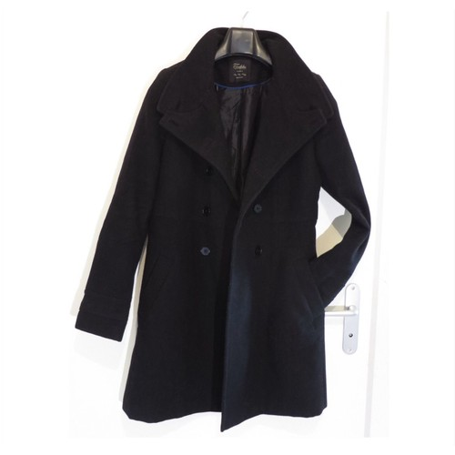 manteau zara 42 l noir achat vente de pr t porter priceminister rakuten. Black Bedroom Furniture Sets. Home Design Ideas
