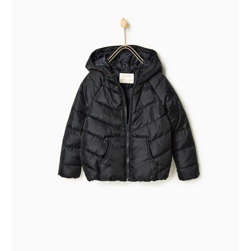 manteau zara acrylique 7 ans noir achat et vente. Black Bedroom Furniture Sets. Home Design Ideas