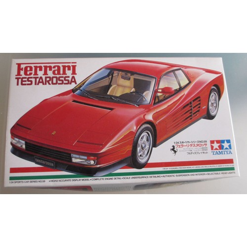 maquette construire ferrari testarossa tamiya neuf et d 39 occasion. Black Bedroom Furniture Sets. Home Design Ideas
