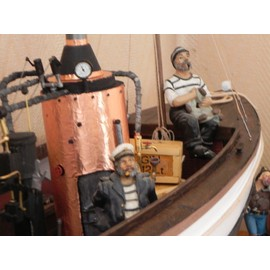maquette bateau bois african queen billing boats neuf et d 39 occasion. Black Bedroom Furniture Sets. Home Design Ideas