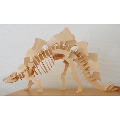 maquette en bois dinosaure velociraptor 3d 50cm jeux jouet enfant noel. Black Bedroom Furniture Sets. Home Design Ideas