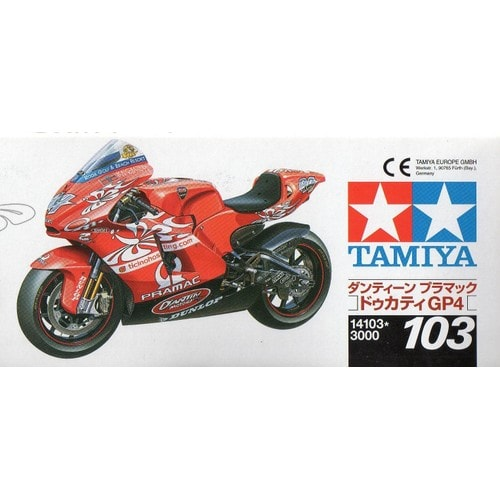 maquette moto tamiya ducati g p 4 1 12 tamiya neuf et d 39 occasion. Black Bedroom Furniture Sets. Home Design Ideas