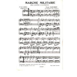 partition musique militaire