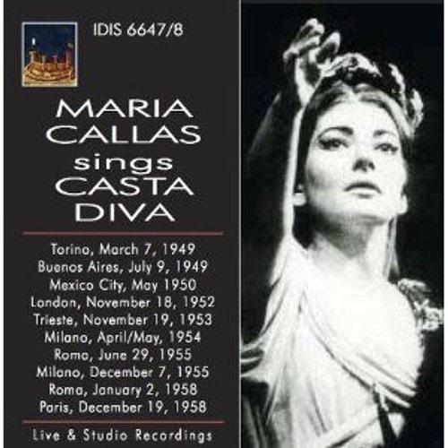 Maria callas chante casta diva de bellini maria callas - Casta diva bellini ...