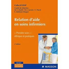 Relation D'aide Soins Infirmiers - Sfap, Soci�t� Fran�aise D'accompagnement Et De Soins Palliatifs de Marie-Claude Dayd�