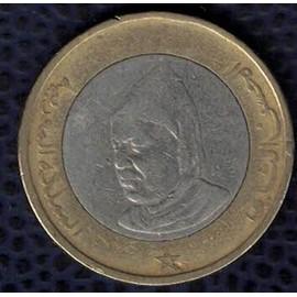maroc 1995 pi ce de monnaie coin 10 dirhams achat et vente. Black Bedroom Furniture Sets. Home Design Ideas
