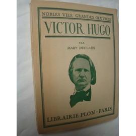 Victor Hugo de Mary Duclaux