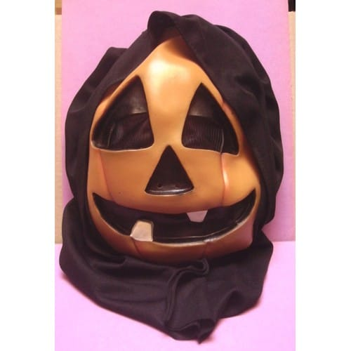 Masque capuche t te de citrouille jack lantern halloween rakuten - Tete de citrouille ...