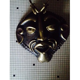 masque africain tortue