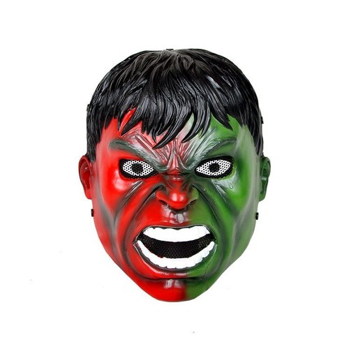 Masque Airsoft Paintball Protection Grille Grillage Fibre De Verre Qualité  Compound Hulk Vert Rouge Fusion Comics Avengers
