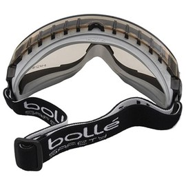 Masque De Protection Bolle Pilot Ii 2 Noir Verre Fume Traitement Anti Buee  Anti Rayure Csp. - 62 % a6b14863db08