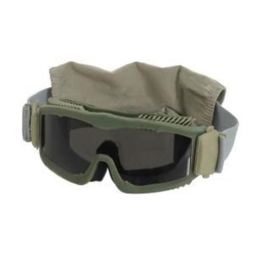 masque lunette de protection type razor olive kaki ecran. Black Bedroom Furniture Sets. Home Design Ideas