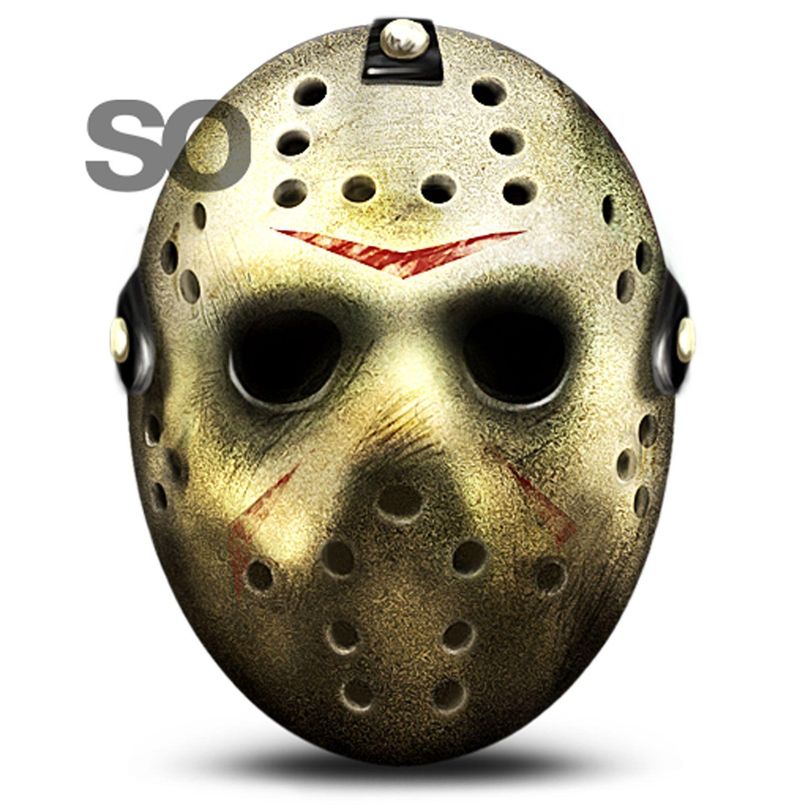 Masque v ritable jason voorhees vendredi 13 freddy hockey airsoft deguisement halloween - Masque halloween film ...