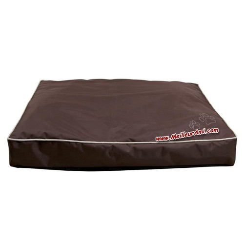 matelas hydrofuge int rieur ext rieur 90 x 65 cm marron. Black Bedroom Furniture Sets. Home Design Ideas