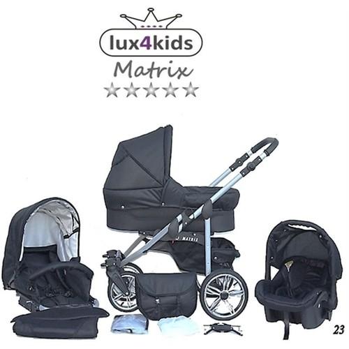 matrix 2 3 en 1 poussette combin e avec si ge auto pas. Black Bedroom Furniture Sets. Home Design Ideas