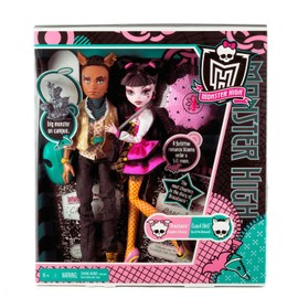 Poup�e Monster High Coffret Duo Draculaura Et Clawd