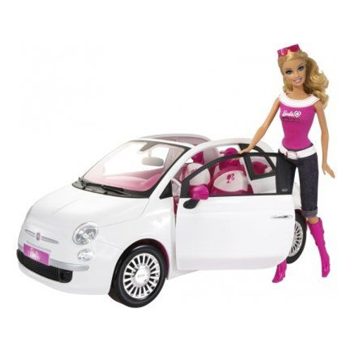 mattel r1623 barbie voiture fiat 500 achat et vente. Black Bedroom Furniture Sets. Home Design Ideas