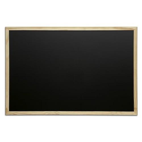 Maul tableau noir avec cadre en bois l 900 x h 600 mm for Tableau noir en bois