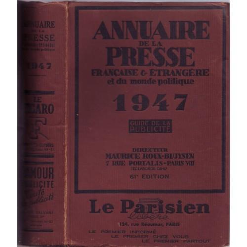 annuaire de la presse française