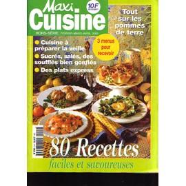Maxi cuisine hors s rie 80 recettes faciles et for Maxi hors serie cuisine
