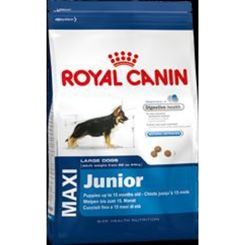 royal canin croquettes maxi junior 15kg chiot grande taille. Black Bedroom Furniture Sets. Home Design Ideas