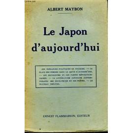 Le Japon D'aujourd'hui de Albert Maybon