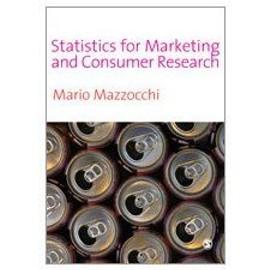 Statistics For Marketing And Consumer Research de Mario Mazzocchi
