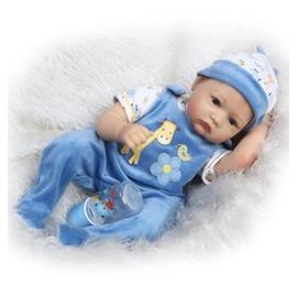 meilleur cadeau de no l silicone reborn poup e 55 cm r aliste b b poup es pour enfants. Black Bedroom Furniture Sets. Home Design Ideas