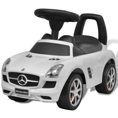 mercedes benz pousse pied voiture enfant blanc achat et vente. Black Bedroom Furniture Sets. Home Design Ideas