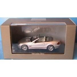 Mercedes Benz Sl Klass Workable Hard Top 2001 Silver Norev 1/43
