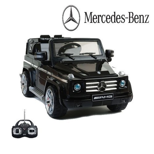 mercedes g55 amg noir voiture lectrique enfant 2 moteurs 12 volts. Black Bedroom Furniture Sets. Home Design Ideas