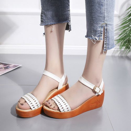finest selection 91f82 be1b1 mesdames-femmes-d-ete-creux-fashion-out-wedges-plage-sandales-chaussures -roman-rose-1264180701 L.jpg