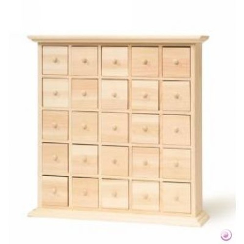 meubles tiroirs 30x30x6 calendrier d 39 avent priceminister rakuten. Black Bedroom Furniture Sets. Home Design Ideas
