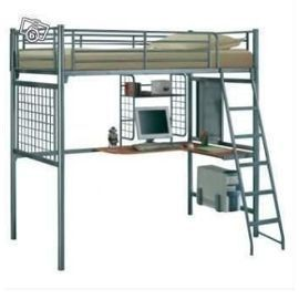 Tm batrix - Lit mezzanine metal 1 place ...