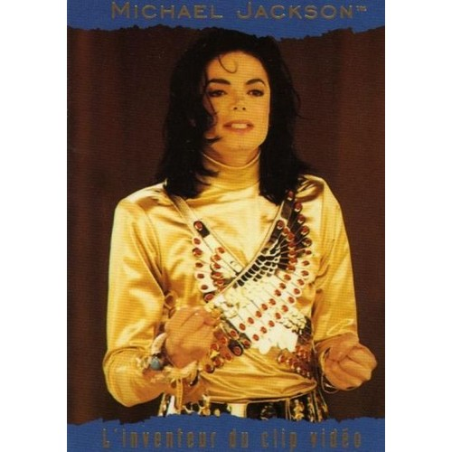 Michael Jackson Trading Card Panini N 138 Neuf Et Doccasion