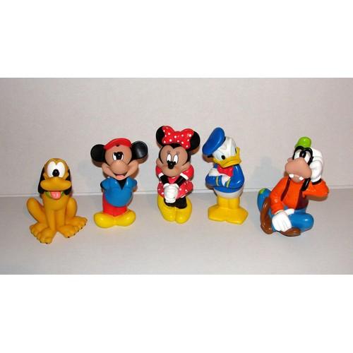 Mickey donald minnie pluto dingo lot de 5 ancien pouet disney - Donald et dingo ...
