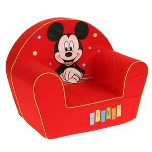 disney fauteuil dcor happy mickey mouse rouge - Fauteuil Mickey