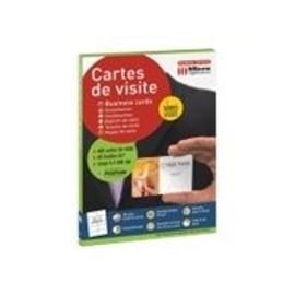 Micro Application CARTES DE VISITE BORDS LISSES