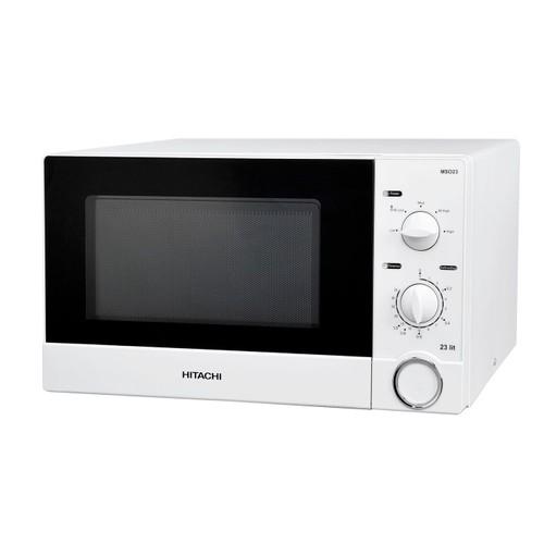 micro ondes hitachi ms023 blanc achat et vente priceminister rakuten. Black Bedroom Furniture Sets. Home Design Ideas