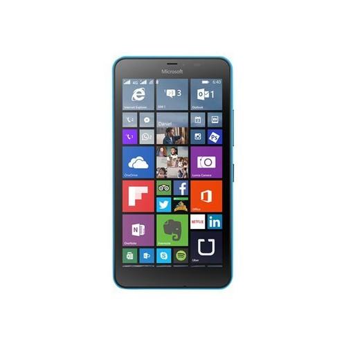 microsoft lumia 640 xl lte dual sim 8 go double sim cyan mat pas cher. Black Bedroom Furniture Sets. Home Design Ideas