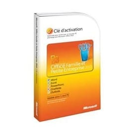 Microsoft office famille et petite entreprise cl d - Office famille et petite entreprise 2010 ...