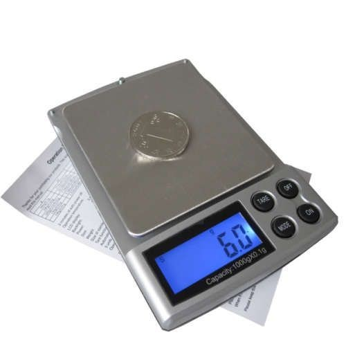 mini balance digitale lectronique pr cision 0 1 g 1 kg. Black Bedroom Furniture Sets. Home Design Ideas