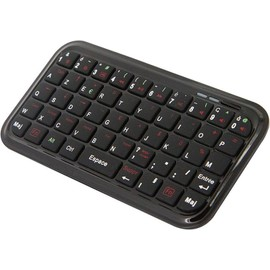 mini clavier bluetooth pour iphone ipod touch ipad mac. Black Bedroom Furniture Sets. Home Design Ideas