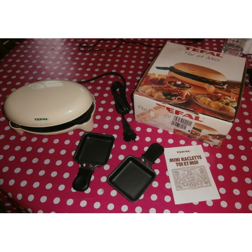 mini raclette tefal toi et moi achat et vente priceminister rakuten. Black Bedroom Furniture Sets. Home Design Ideas