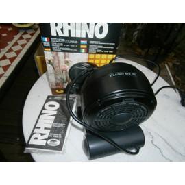 mini radiateur noir ceramique d 39 appoint soufflant 900 w sur secteur rhino groupe sensemat. Black Bedroom Furniture Sets. Home Design Ideas