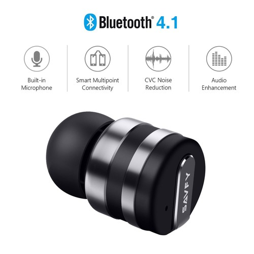 mini sans fils bluetooth ecouteur avec micro st r o invisible mains libres micro int gr avec. Black Bedroom Furniture Sets. Home Design Ideas